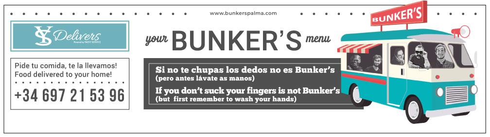 bunkers delivery restaurant